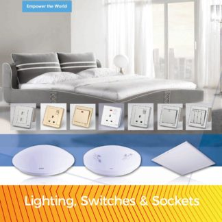 Lighting, Switches and Sockets